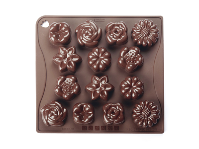 Chocolate mould Bouquet