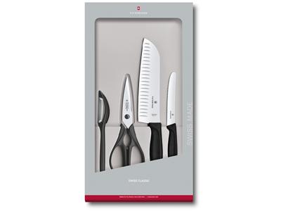 Knivsæt Victorinox Swiss Classic 4-P Sor