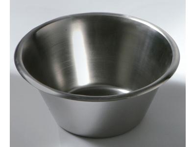 Konisk rustfri skål 6,0 ltr