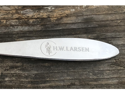 P1 Bordkniv rustfri Larsens Bedste