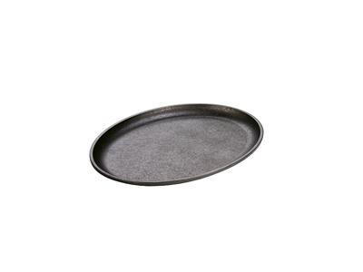 Støbejerns Grillplade oval 34x25 cm LODG