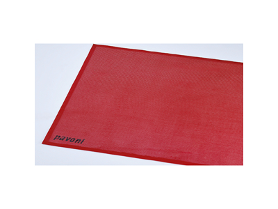 Bagemåtte rød  585x385 mm -40 - 300 gra