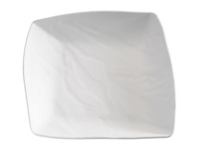 Melamin Fad Sort 23x23,5x5,5 cm