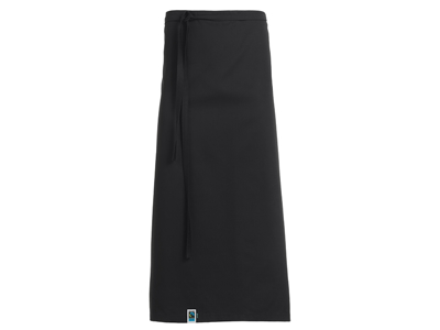 Tjenerforklæde sort one size 100x80