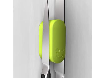 Knivmagnet till 2 knivar Grön