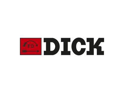 Kokkekniv Santoku 18 cm Dick Premier plu