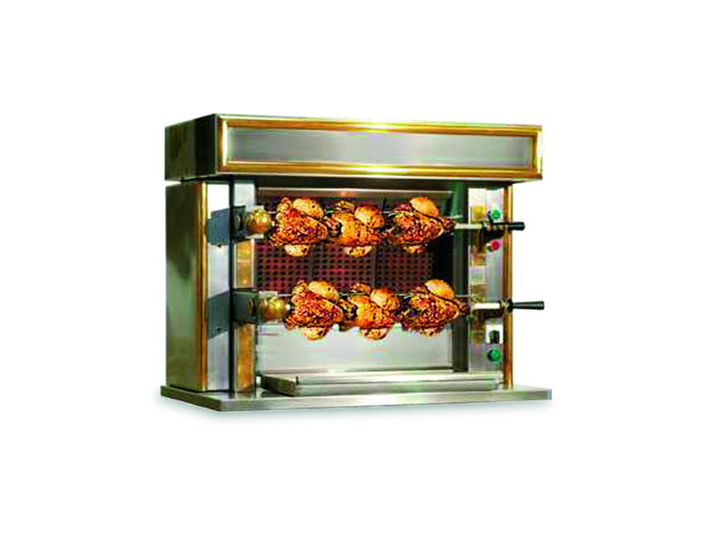 Kyllingegrill til industrikøkken