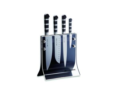Knivblok Dick m. 4 knive