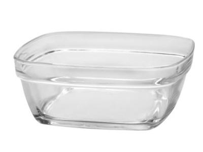 Glasskål firk stabelba 17x17x6,7cm 115cl