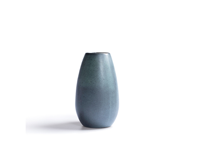 RAW Vase Ø5 H 16 cm grøn