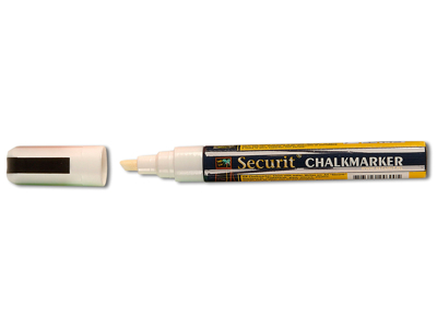 Marker white 2-6 mm
