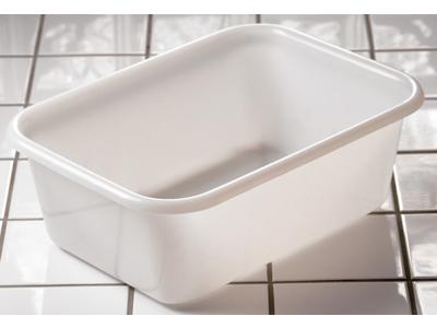 Balje, 12 ltr., hvid 44x32x15,5 cm yder