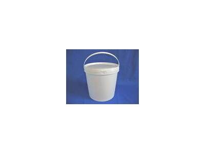 Spand m. låg 10,8 L Hvid plast  -20+85C