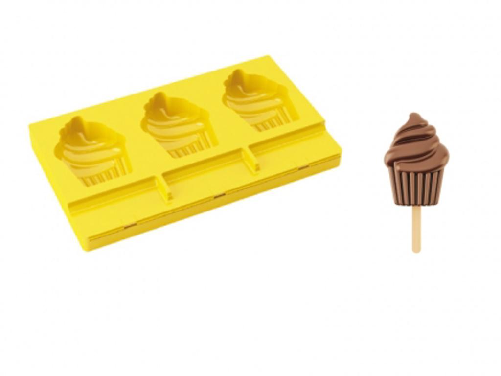 Moldes para helados de silicona