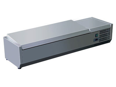 Køleopsats 1200x395x435 mm m/låg