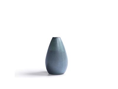 RAW Vase Ø3 H 13,5 cm grøn