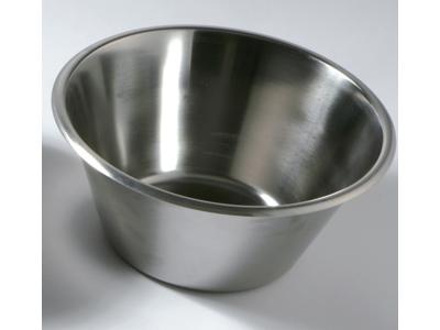 Konisk rustfri skål 11 ltr.