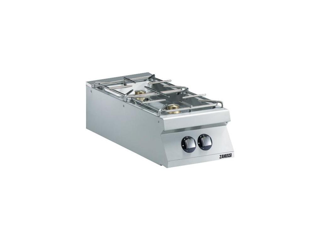 Kogebord 2 blus til gas 400 mm 900