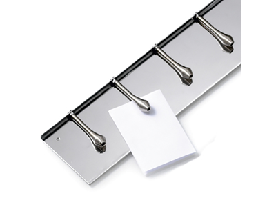Ticket holder aluminum