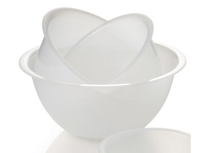 Skål plast hvid 4,5 liter Ø 27,5 cm