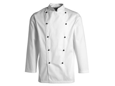 Chaqueta de cocinero blanco talla 120