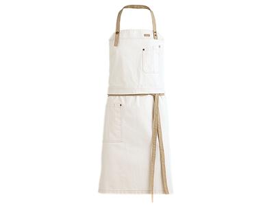 Smækforklæde RAW Hvid