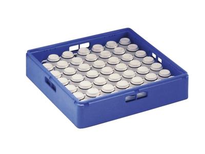 Opvaskebakke til kopper/glas 1 stk BLÅ