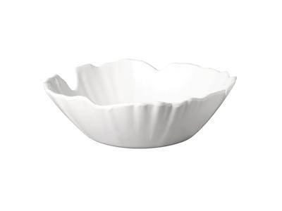 Melamin skål Hvid palmeblad Ø 30cm 1,5L