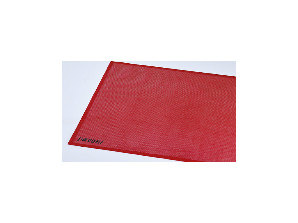 Bagemåtte rød  385x285 mm -40 - 300 gra