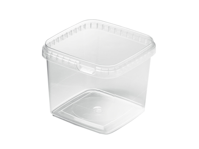 Condi transparent bucket 1,15 L