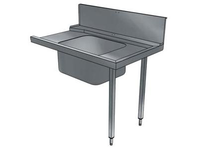 Indgangsbord 1200 mm m/vask H>V