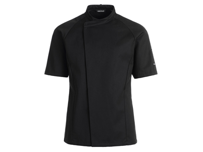 Kokkejakke sort Unisex XL