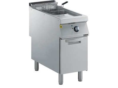 Friture 15 ltr m/skab el 400 mm 900