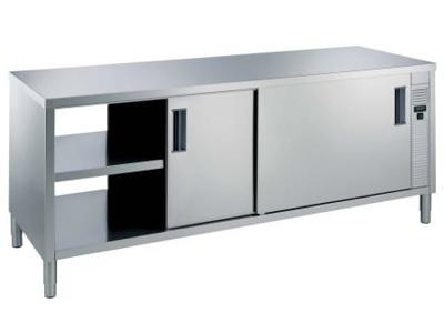 Värmeskåp 1600 mm 1 hylla och 4 dörrar