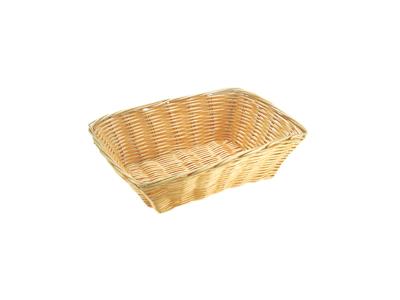 Brödkorg BASIC i ljus polypropylen