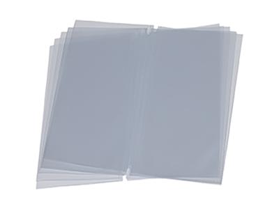 Opslag til menukort lang, transperant 10
