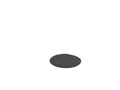 Skiffertallerken, rund 3-pak 15 cm