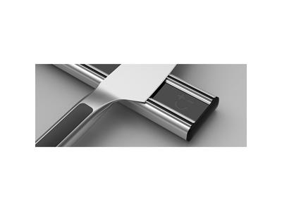 Knivmagnet 300 mm Silver/Sort