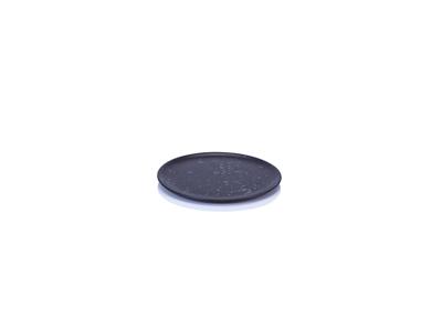 RAW Dessert tallerken Ø20  sort