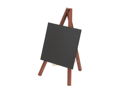 Board with mini Easel mahogany
