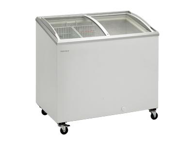 Frysbox 264 liter med glasskjutdörr