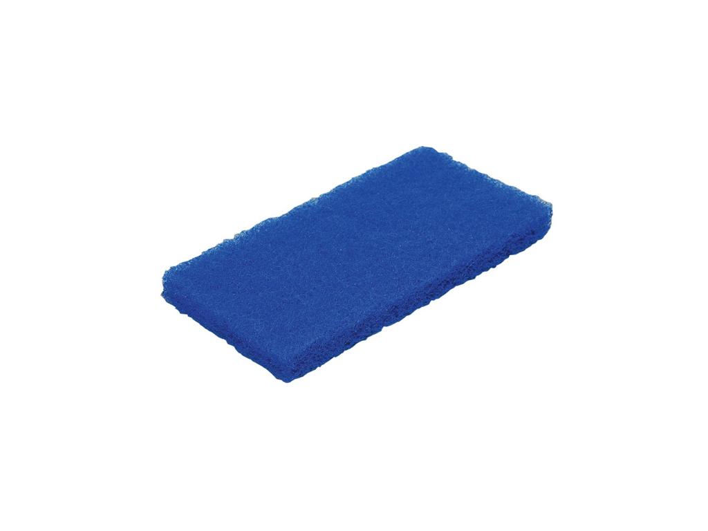 Skurenylon blå medium