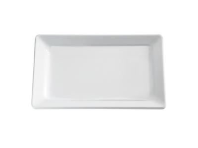 Melamin bakke Hvid 30 x 21 cm, H: 3 cm