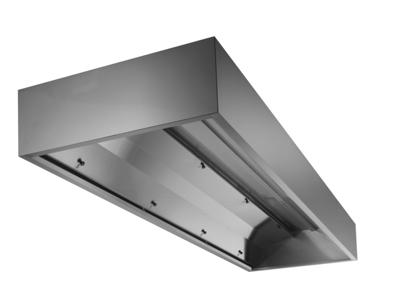 Fläktkåpa 1600 mm vägghängd med kondensskydd