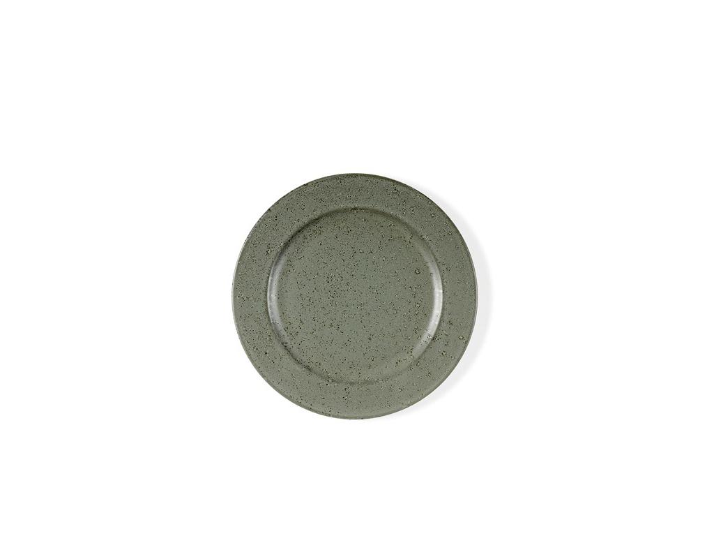 Tallerken dessert 22 cm  grå Bitz