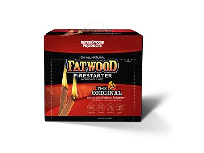 Optændning Fatwood FSC 4,5 kg