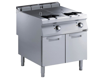 Friture 2x18 ltr m/skab el 800 mm 900