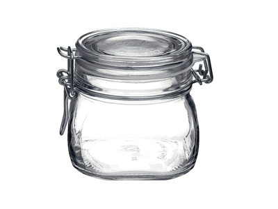 Henkogningsglas 0,5 liter h9,8 cm