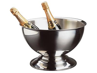 Champagneskål, högglanspolerad