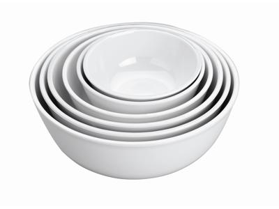 Melamin Skål Hvid Ø11,8x5,1 cm 0,3 liter